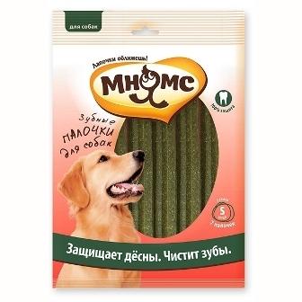 Мнямс - Зубные палочки для собак с эвкалиптом для чистки зубов 6 шт.*20 гр
