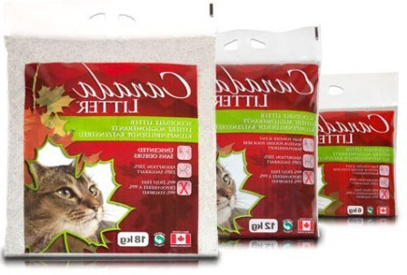 Canada Litter (Канада Литтер) - Комкующийся наполнитель Запах на замке с ароматом лаванды 18 кг