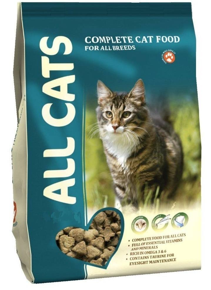 All Cats (Ол Кэтс) - Корм для кошек 13 кг