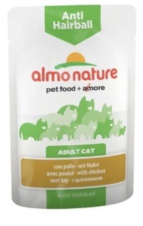 Almo Nature Functional - Паучи с курицей для вывода шерсти у кошек 70 гр