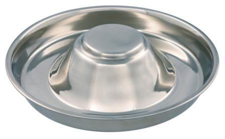 Каскад - Миска из нержавеющей стали для кормления щенков 37 см