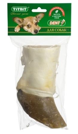 TITBIT (Титбит) - Нога говяжья для собак резаная (мягкая упаковка)
