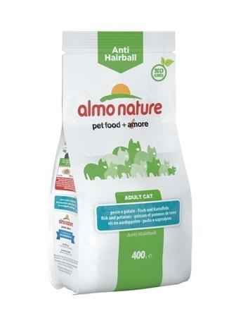 Almo Nature Functional (Алмо Натюр Функшенал) - Для кошек контроль вывода шерсти с рыбой и картофелем 0,4 кг